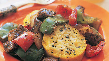Sirloin Tips with Vegetables