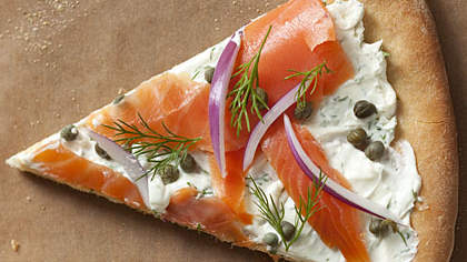 Smoked Salmon Pizza Recipe - Health