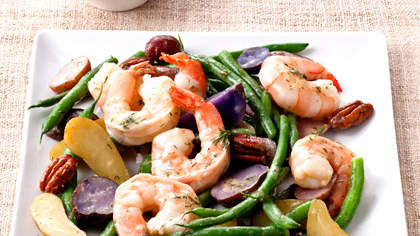 string-bean-potato-shrimp