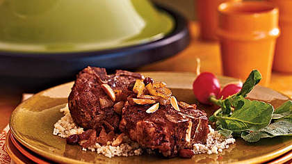 Tagine of Lamb With Caramelized Onions