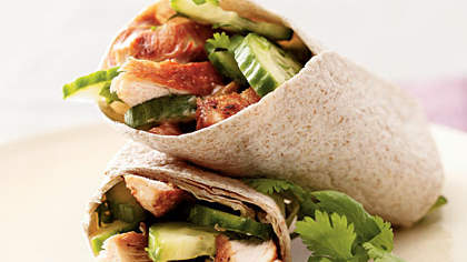 thai-chicken-wrap