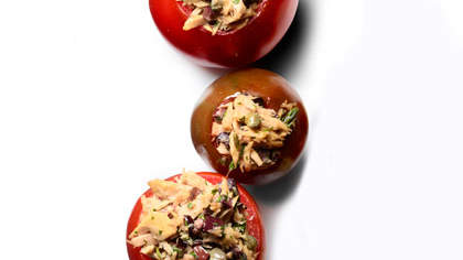 tuna-stuffed-tomatoes