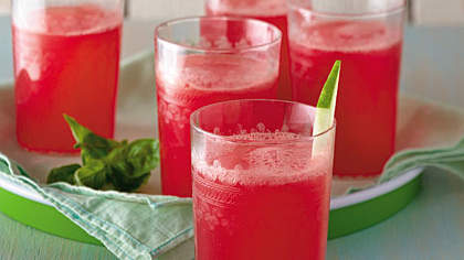 watermelon-basil-drink