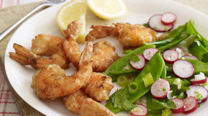 Whole-Wheat-Battered Shrimp