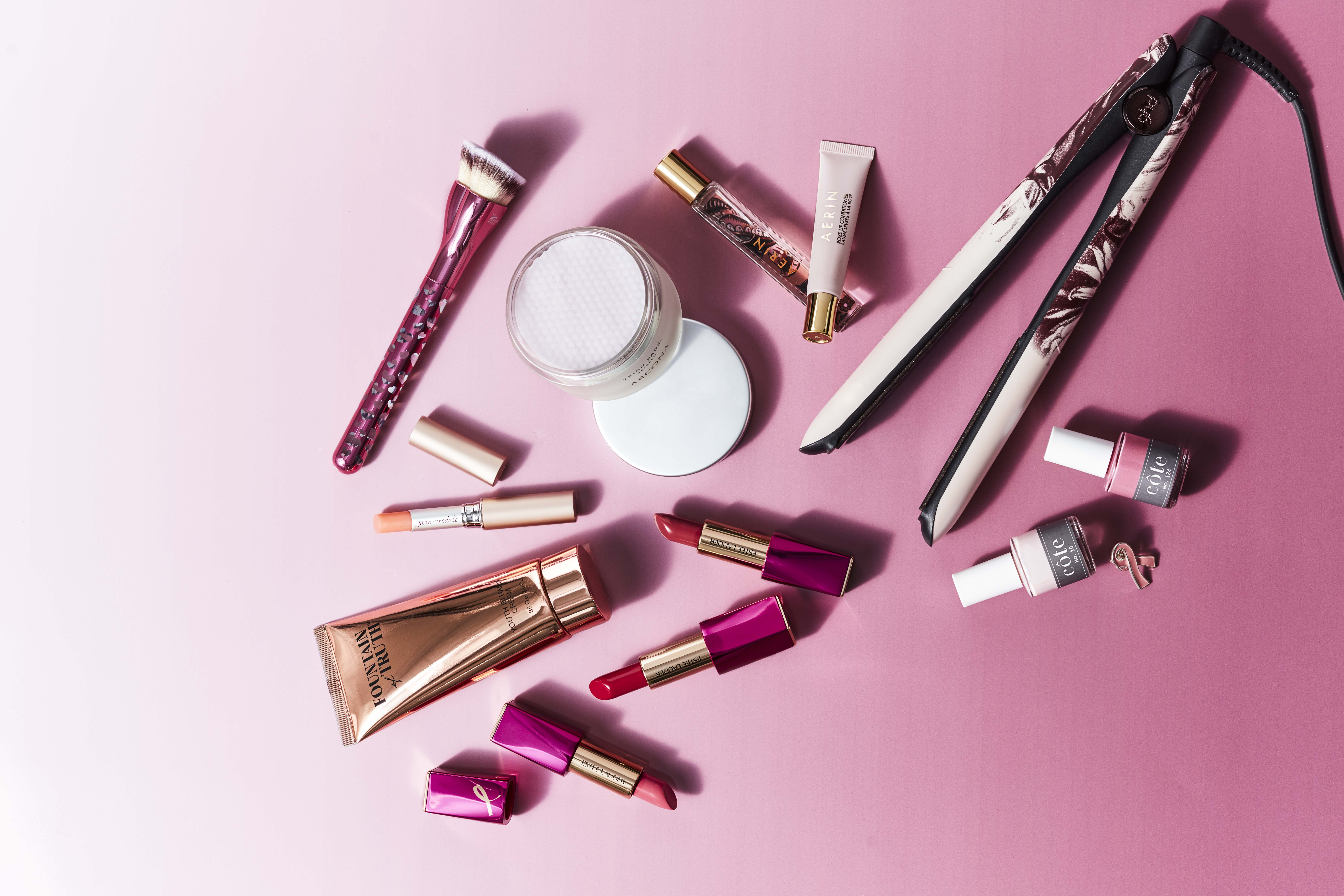 8 Beauty Products to Buy This Month to Benefit Breast Cancer Charities