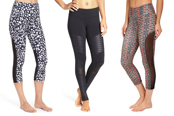 10 Mesh Workout Leggings We Love For Fall