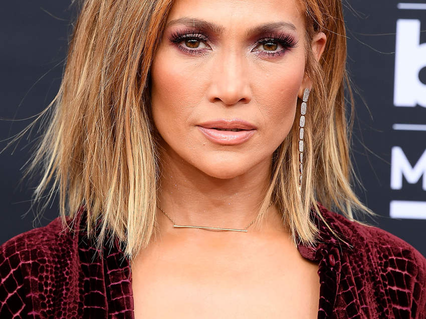 If you're a brunette and you really want a dramatic change, Hazan suggests asking for a honey blonde hair color like Jennifer Lopez. It incorporates several different complementary hues of blonde, making it a true multidimensional look.