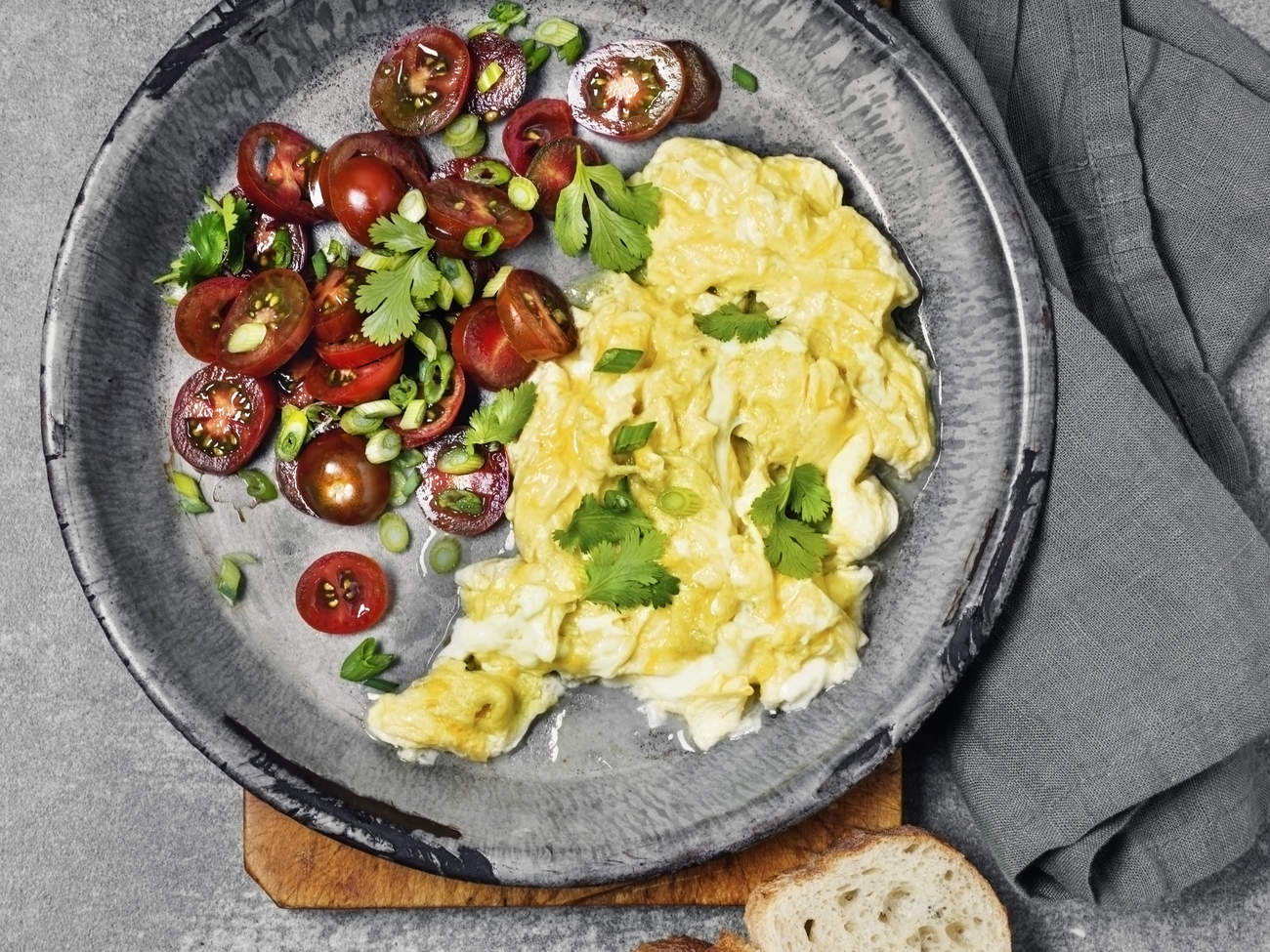 scrambled eggs protein breakfast egg healthy morning