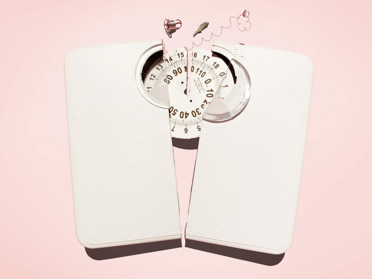 broken weight scale ignore numbers