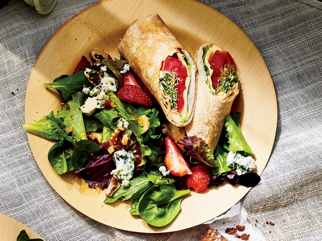 turkey-havarti-wraps-picnic-recipes