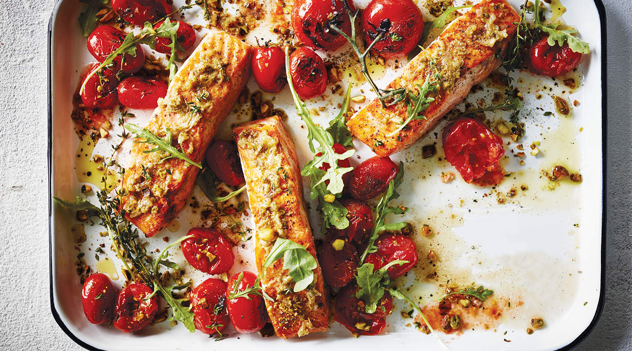 roasted-salmon-tomatoes-one-sheet-wonder
