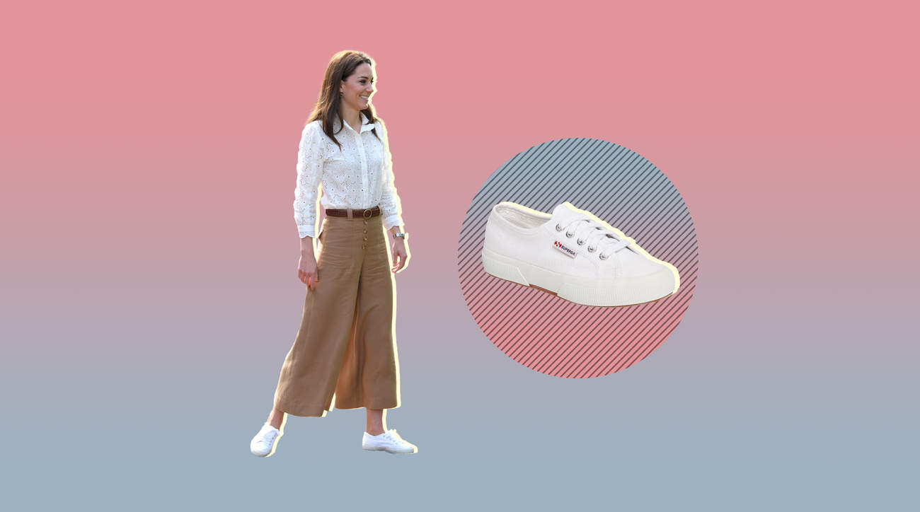 sneaker shopping woman health wellbeing comfort kate-middleton shoe style fashion