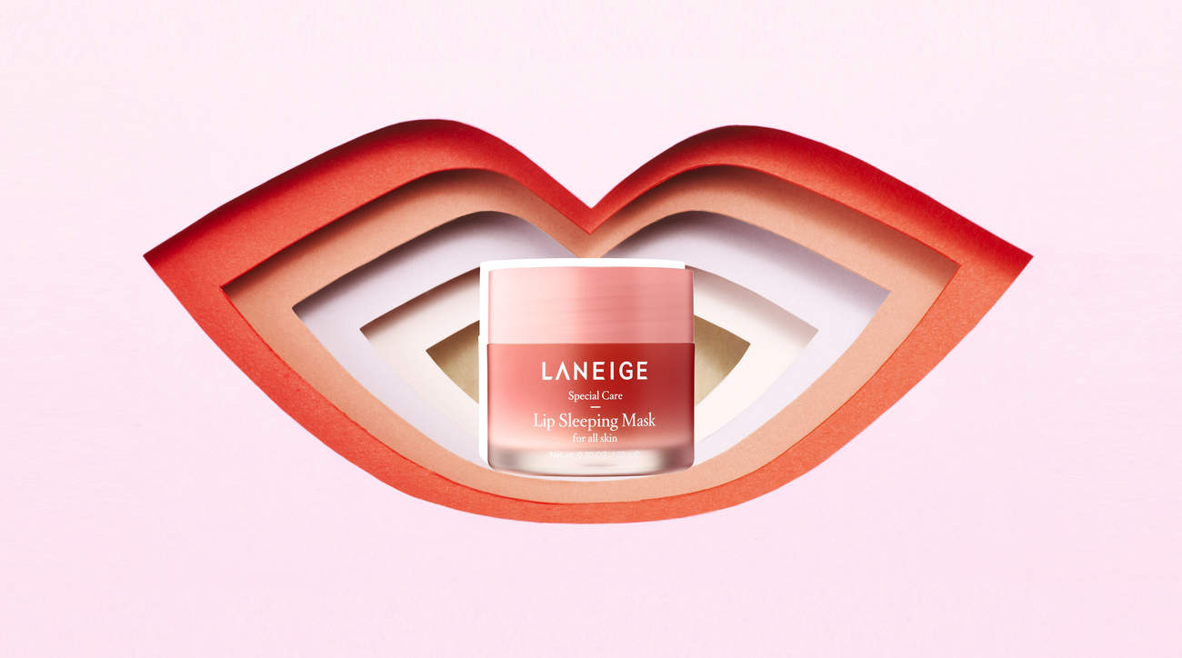 laneige-lip-mask laneige lip-mask lips hydration soft chapped woman health beauty mask