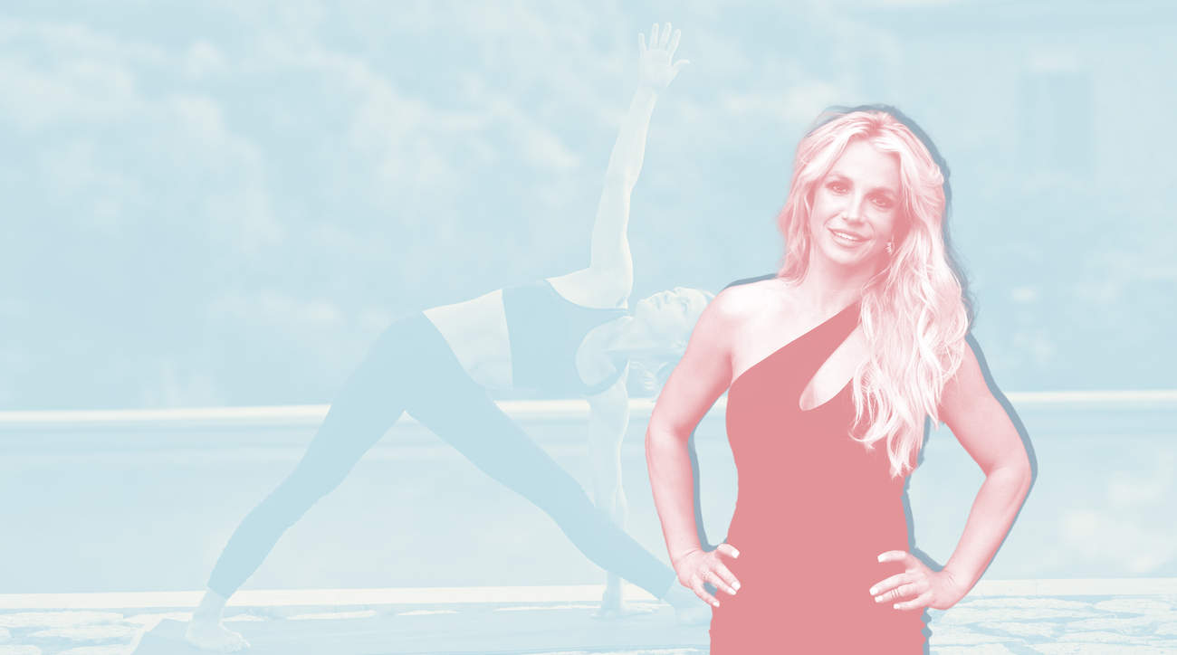 britney-spears-yoga workout