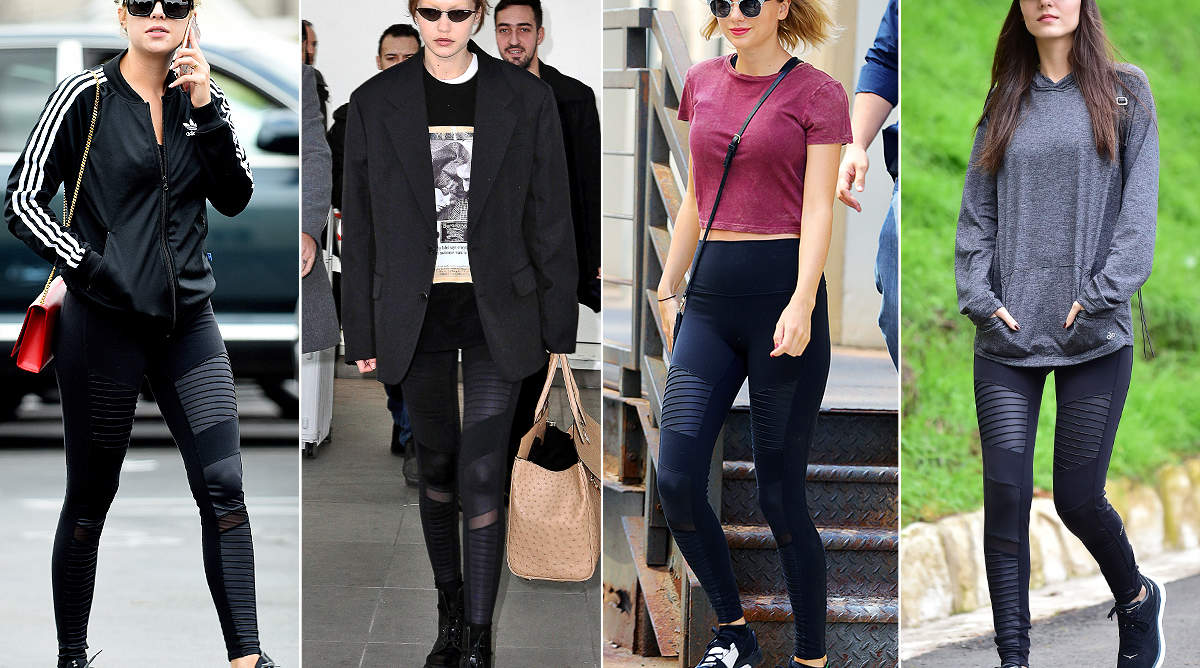Shopping: Taylor Swift, Hailey Bieber, and Tons of Other Celebs' Favorite Leggings Are on Sale Ahead of Black Friday