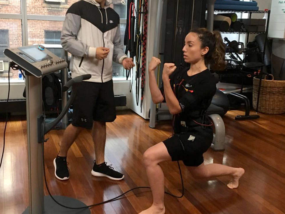 We Tried It: A 20-Minute Muscle-Stimulation Class That Claims to Burn 500 Calories