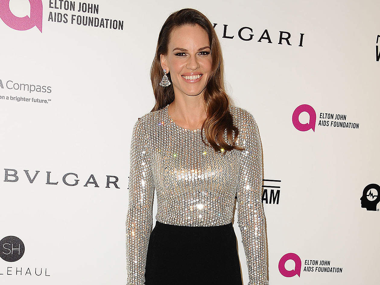 'Make It Happen!': Hilary Swank Shows Off Her Workout Moves for Toned Arms on Instagram
