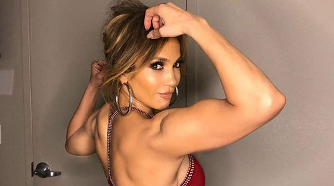 Jennifer Lopez Shows Off Incredible Biceps as She Says She's 'Feeling Like Superwoman'