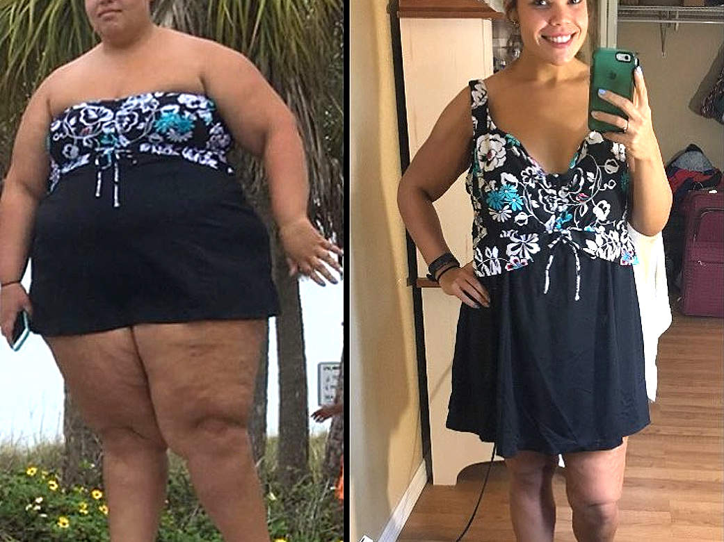 This Woman Dropped 175 Lbs. and Gained Confidence Along the Way: 'I'm a Completely Different Person'