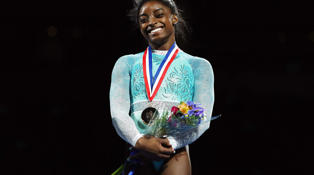 Simone Biles Honored Fellow Sexual Abuse Survivors While Dominating Gymnastics Championships