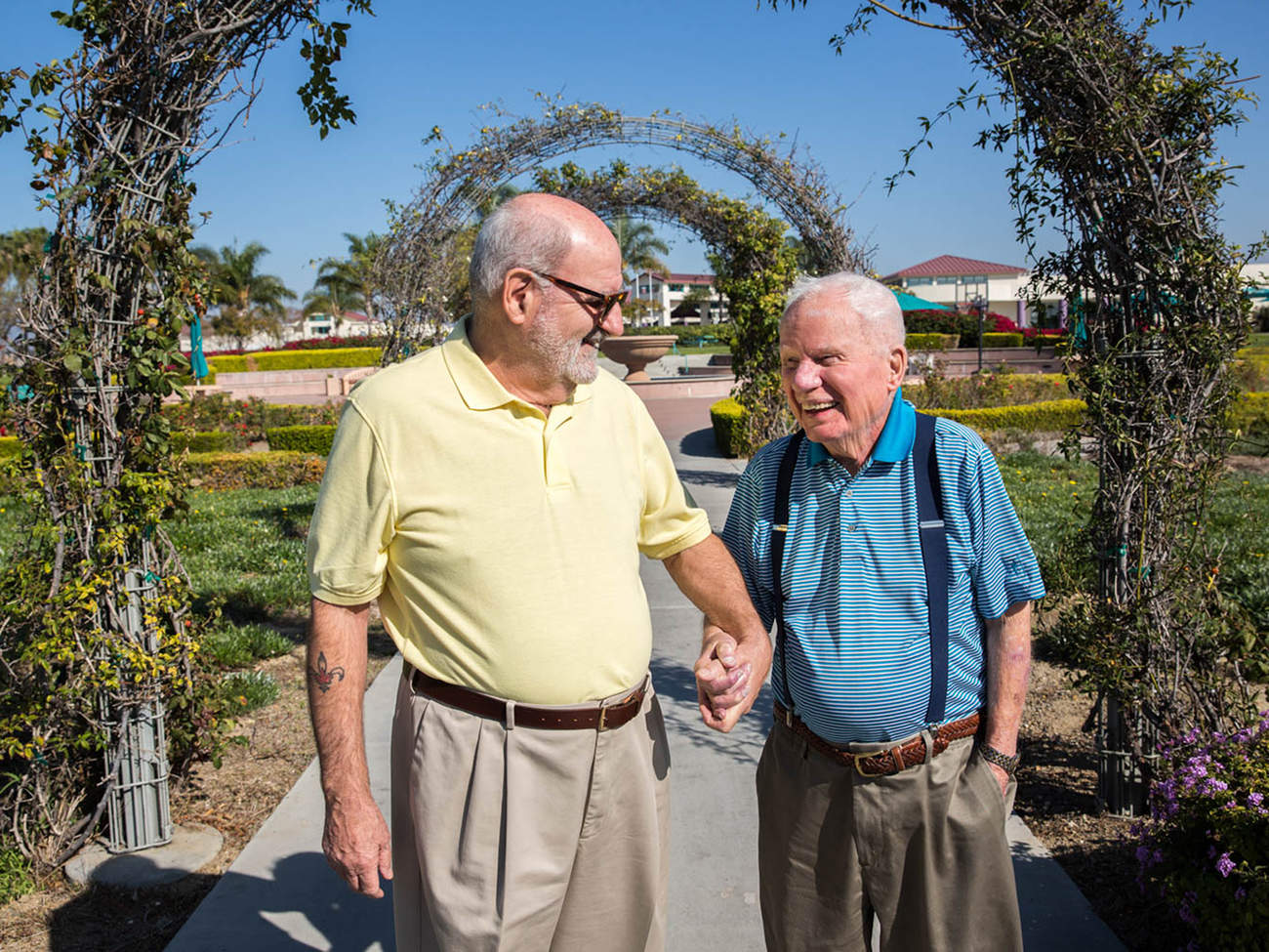 Gay Veterans — Ages 100 and 72 — Share Story of Coming Out and Falling in Love in Nursing Home