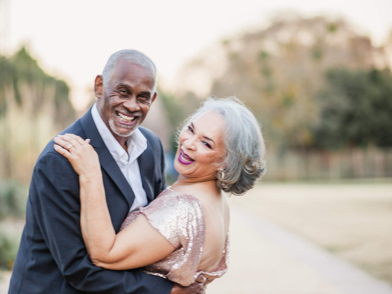 """The secret to a lasting marriage is truth, honesty and not letting the small things get you down,"" the pair happily admitted. ""But most of all never forgetting to laugh and have fun. It is hard work, but it has always been worth the work it takes."""