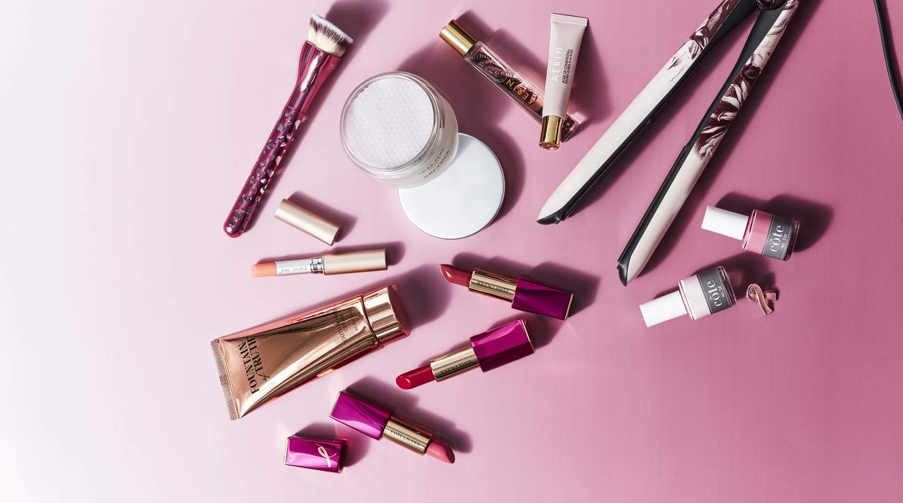 think-pink-beauty-products-health-mag-october-2019
