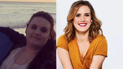 alexis freed 140lbs weight loss before after transformation health bully bullying high school people woman girl women
