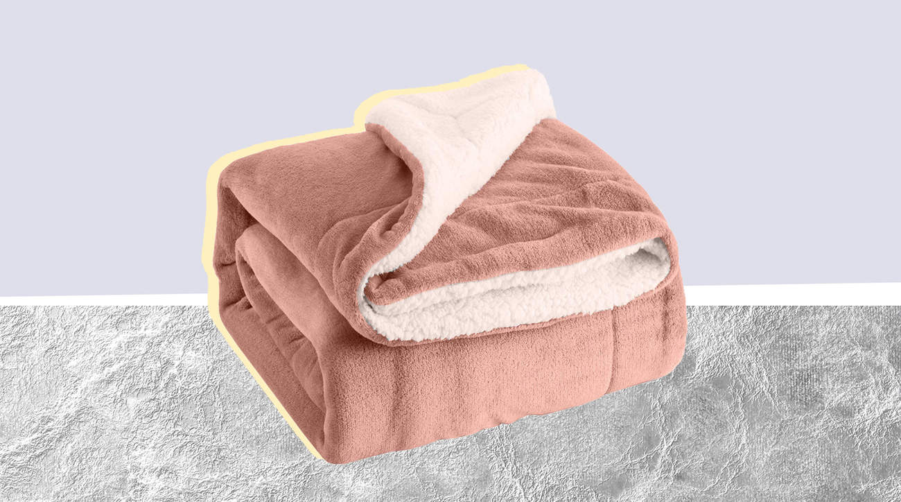 BEDSURE sherpa fleece blanket throw comfy warm cute amazon soft fabric comfort bed couch lazy cold woman health