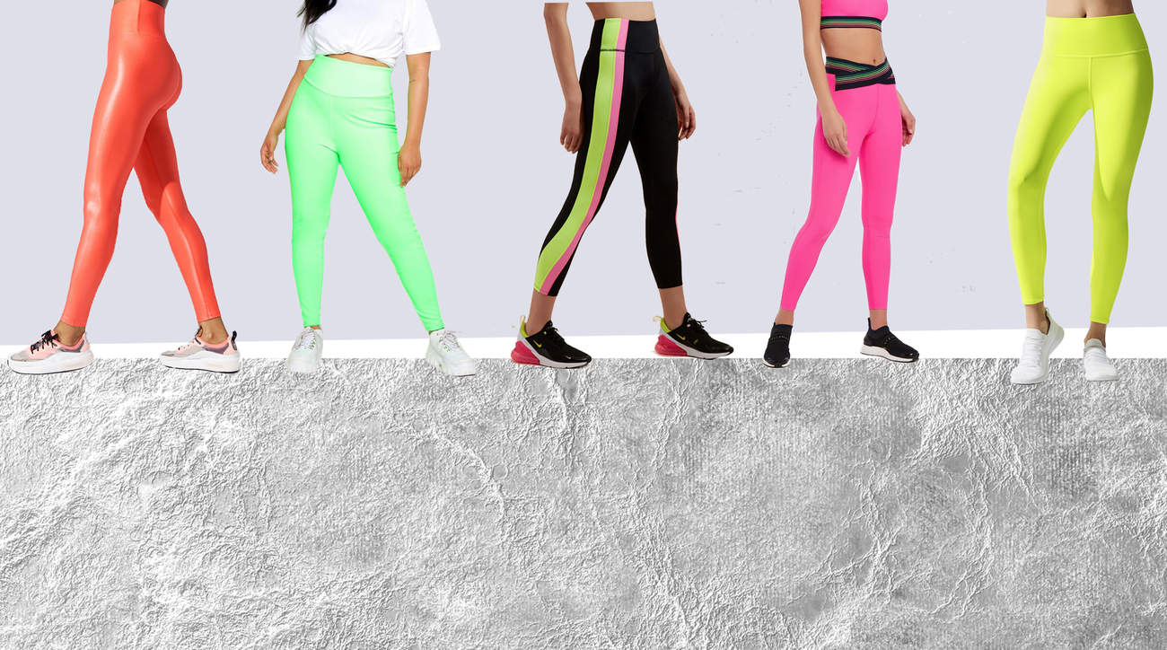 14 Neon Leggings That Will Make a Statement This Summer