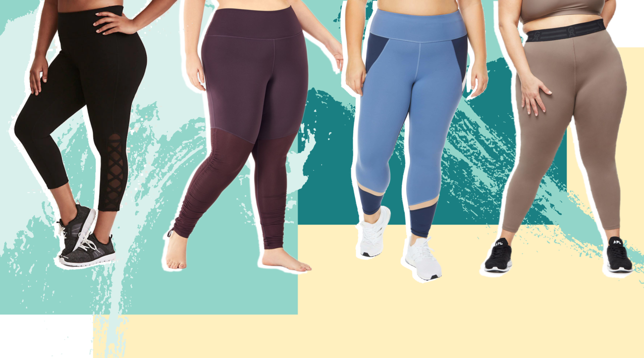 d6cec50a394aef The Best Plus-Size Yoga Pants