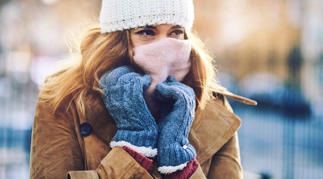 gloves product winter cold protect woman health wellbeing