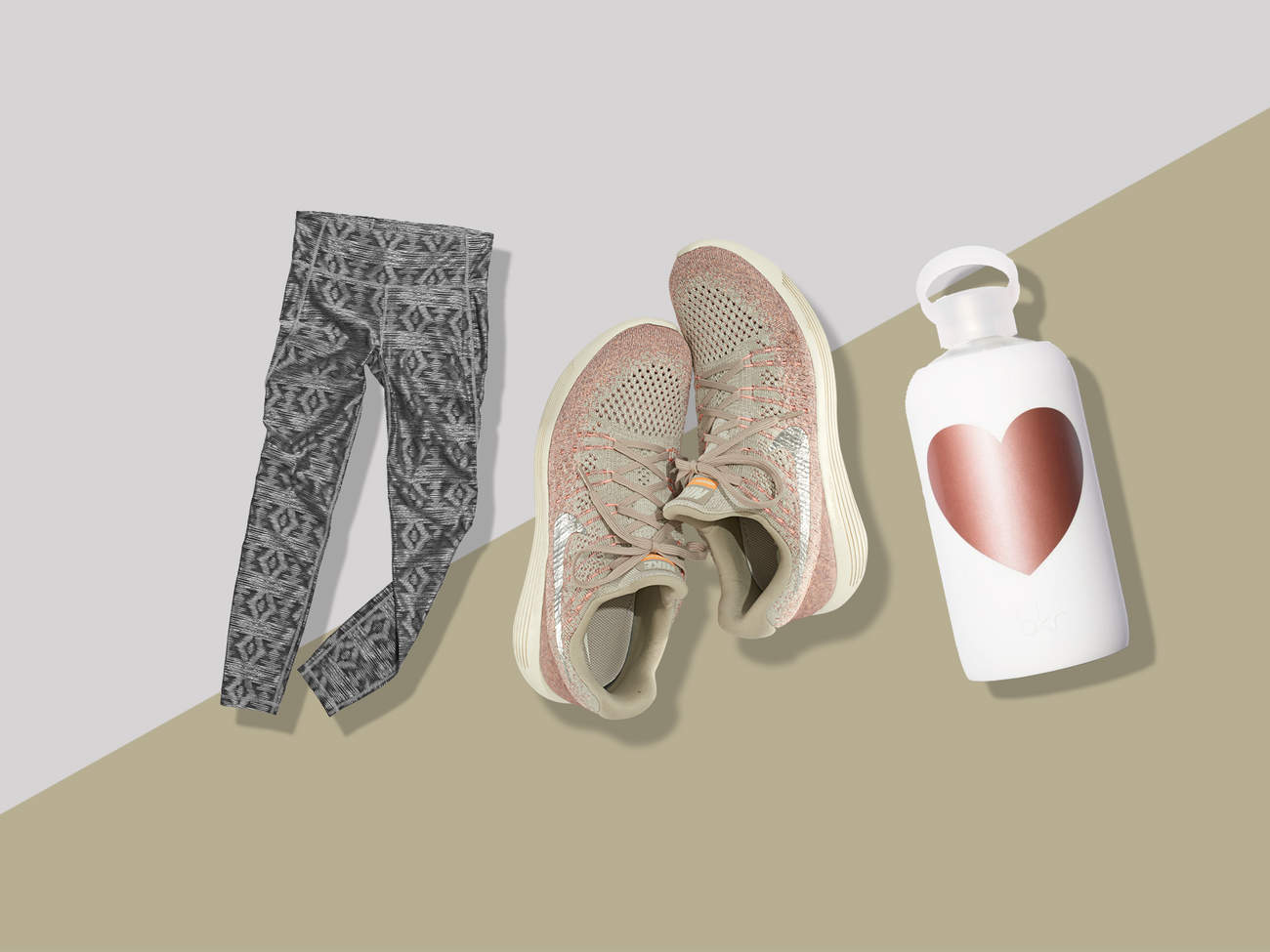 gear awards metallic leggings nike water bottle