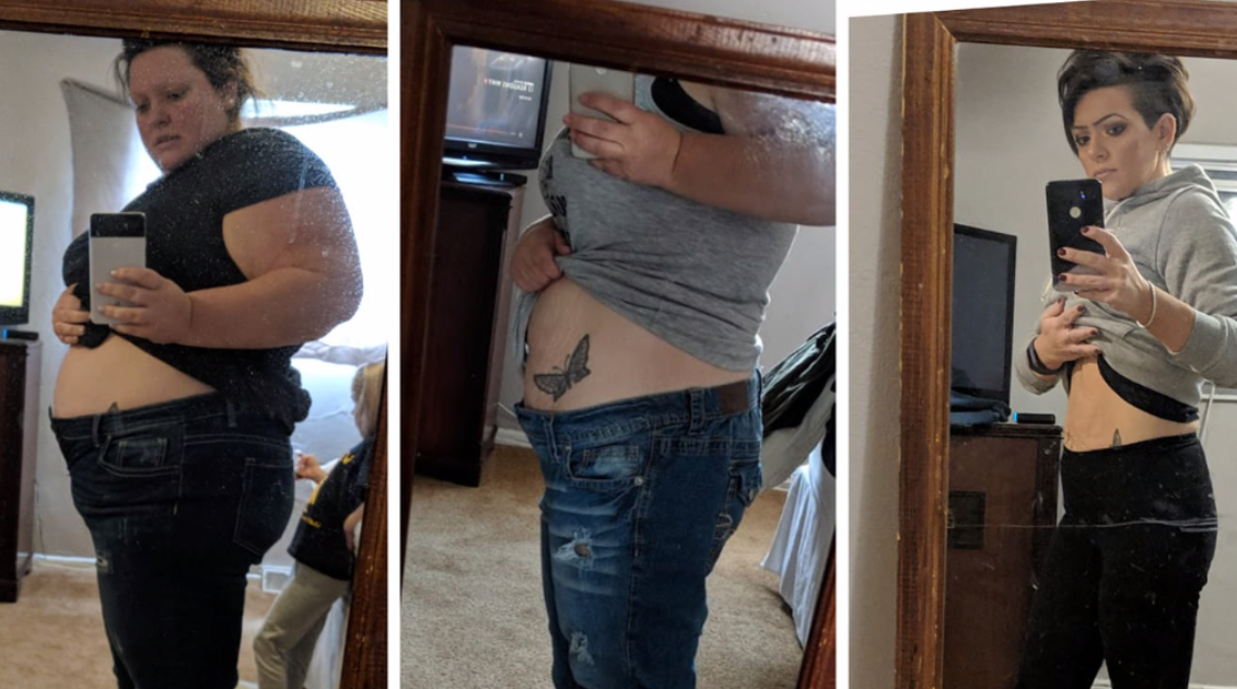 weight-loss-triptych