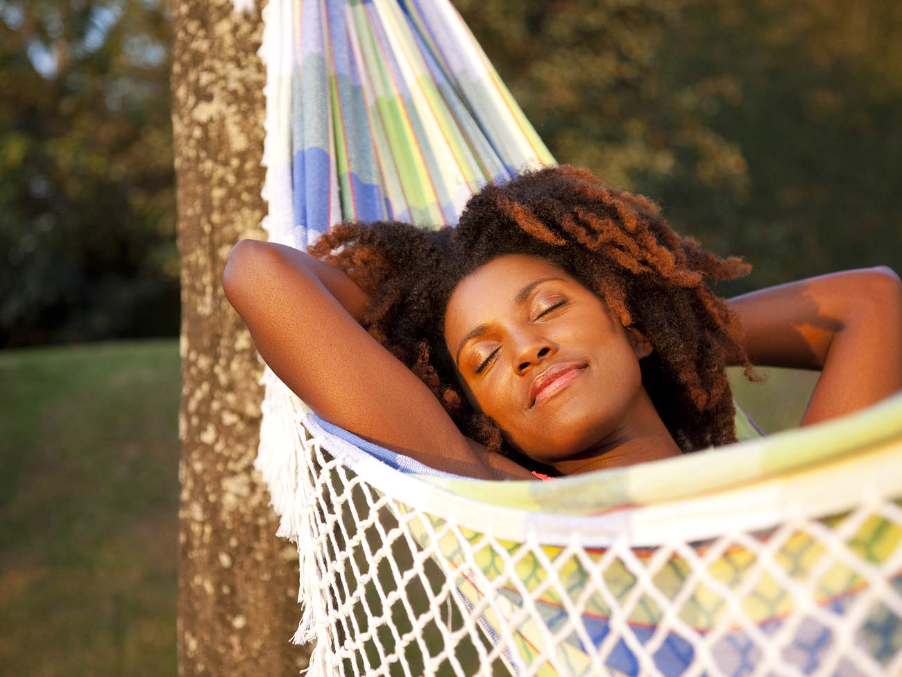 summer-self-care hammock relax hammock