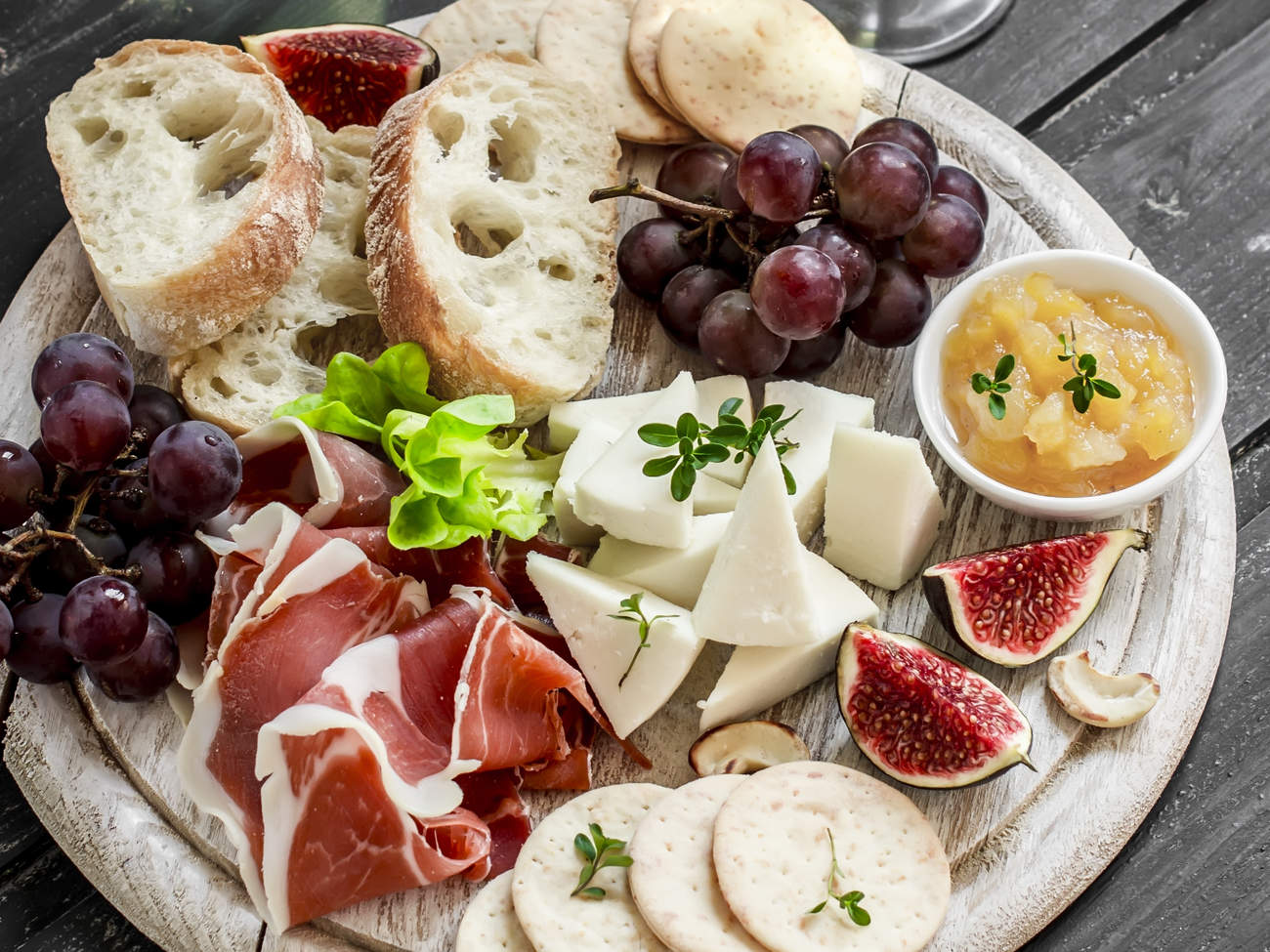 no-cook-minimal-prep-meals-meat-cheese-plate