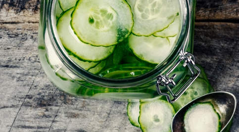 Pickled cucumbers quick pickle recipe