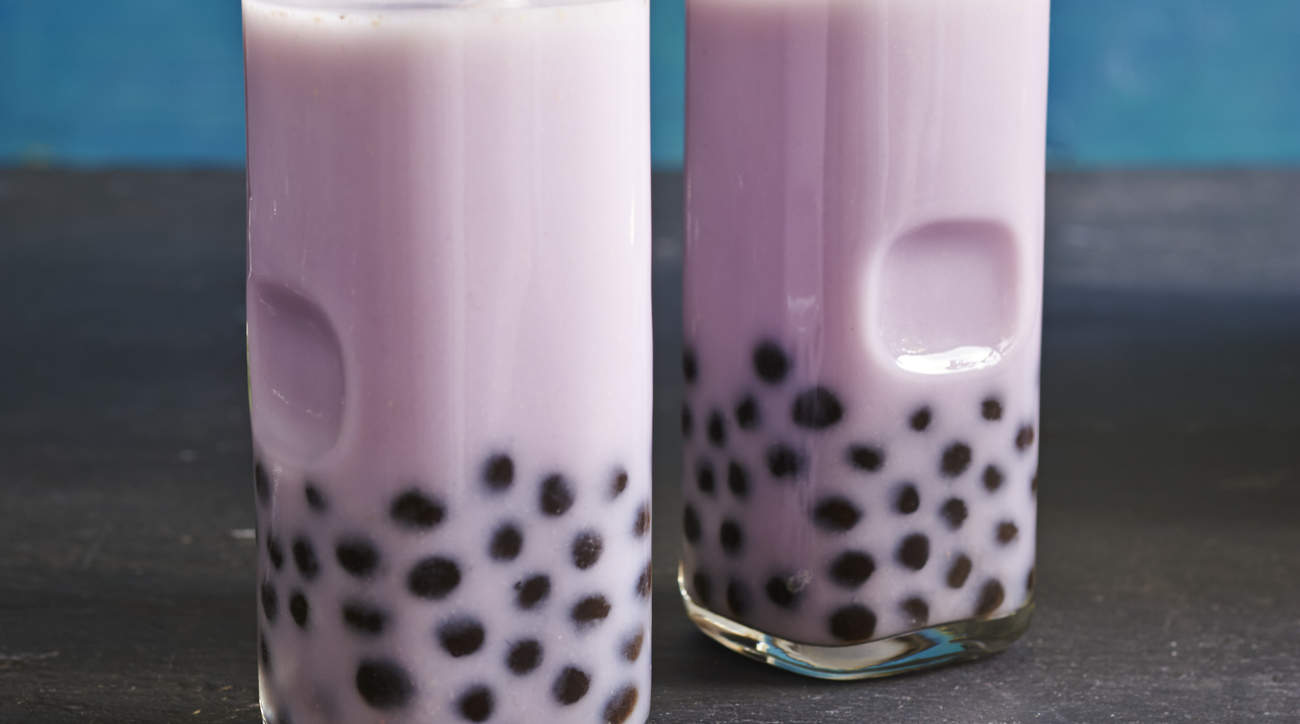 bubble-tea taro bubble bobba woman health blockage intestine wellbeing