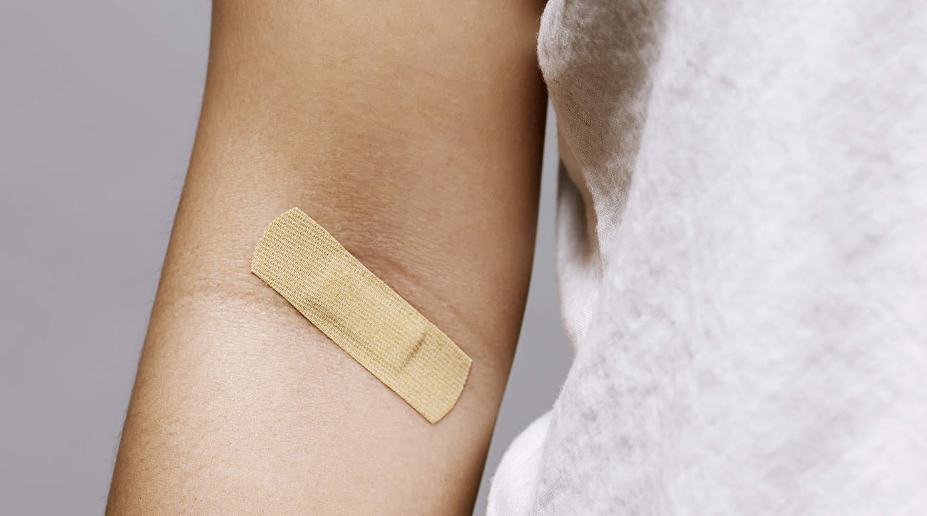 donate-blood-arm-bandaid