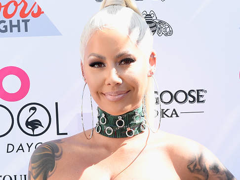 Amber Rose Hosts GO Pool Dayclub At Flamingo Las Vegas