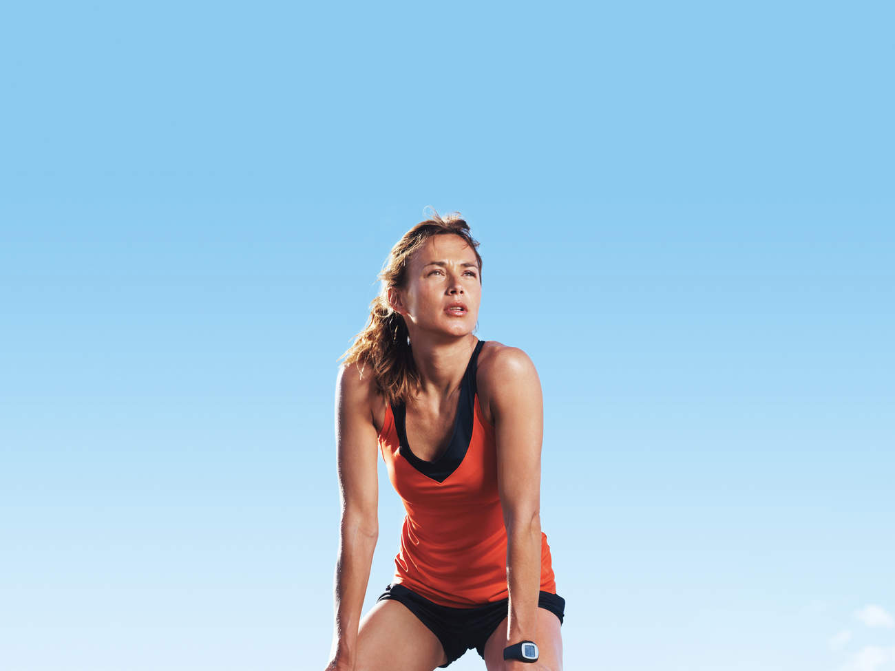 running breath exercise tired workout
