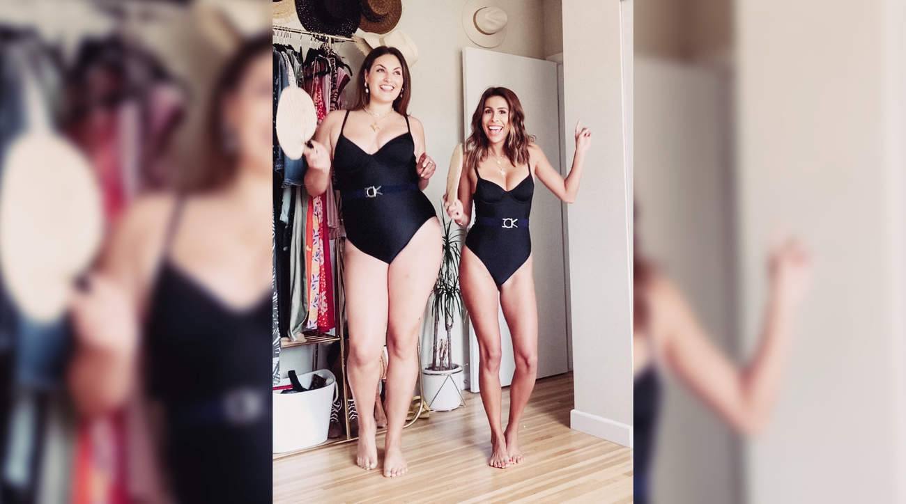 woman health bathing-suit swimsuit body body-positive wellbeing self-esteem confidence size plus-size