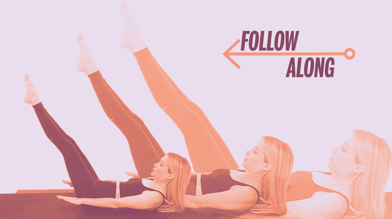 video pilates exercise workout woman health strength flexibility