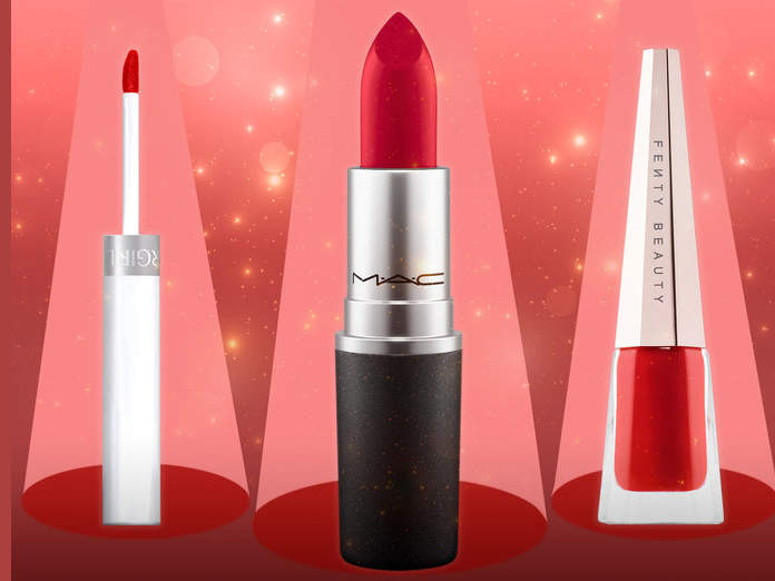 rockette lipsticks best red colors