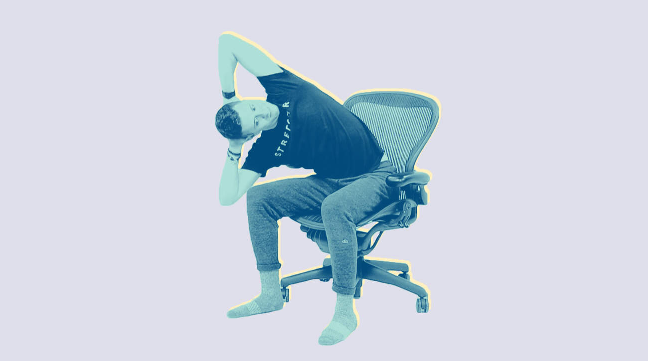 Stretchd 3 Lower Back Stretches To Do at a Desk-video