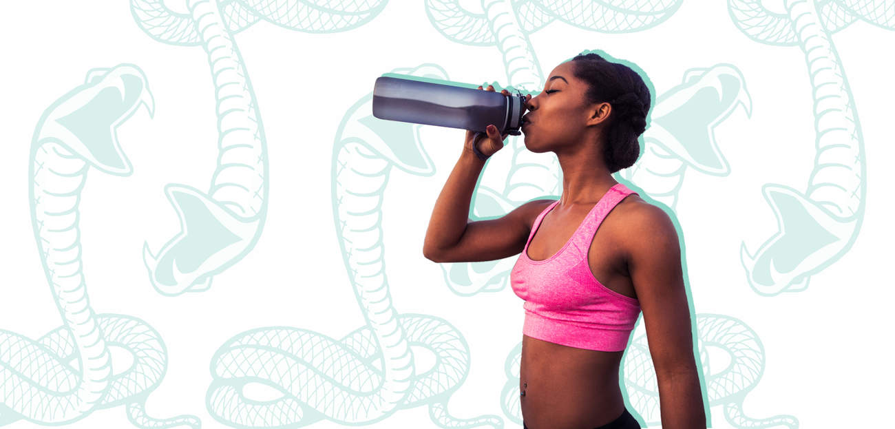 snake-diet diet water fasting food weight-loss woman health electrolytes