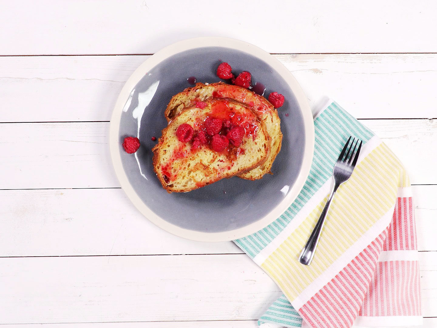 coconut-french-toast-raspberry-syrup-video