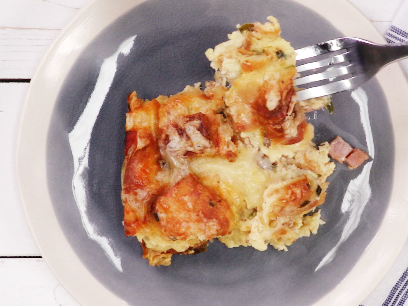 ham-swiss-cheese-bread-pudding-recipe-video