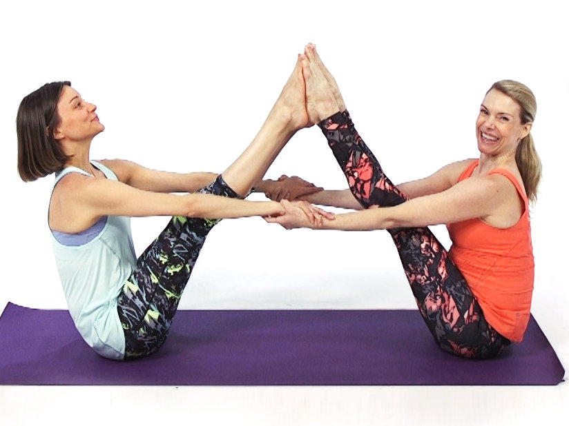 Hard Yoga Poses For Two Kids Abc News