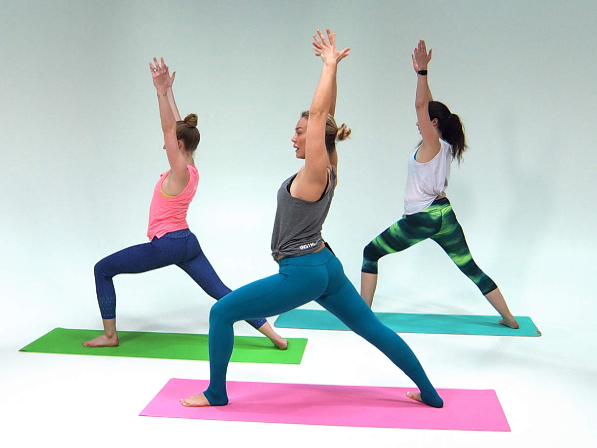 This Invigorating Yoga Flow Is the Best Way to Get Energized